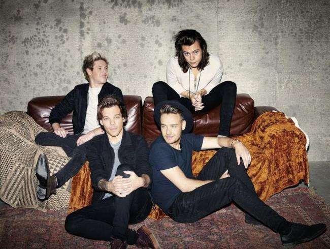 Gli One Direction sulla copertina di Made in the AM
