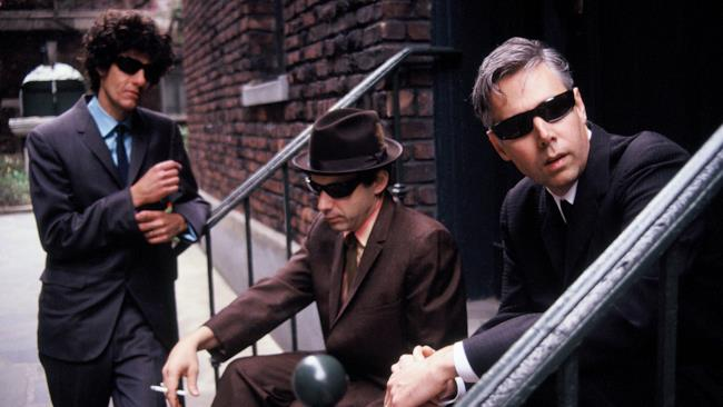 La formazione originale dei Beastie Boys
