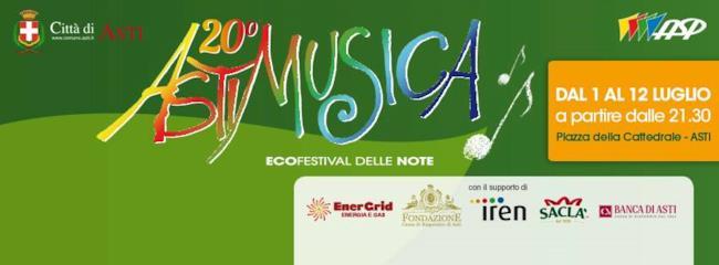 Dal 1° al 12 luglio la XX edizione di AstiMusica