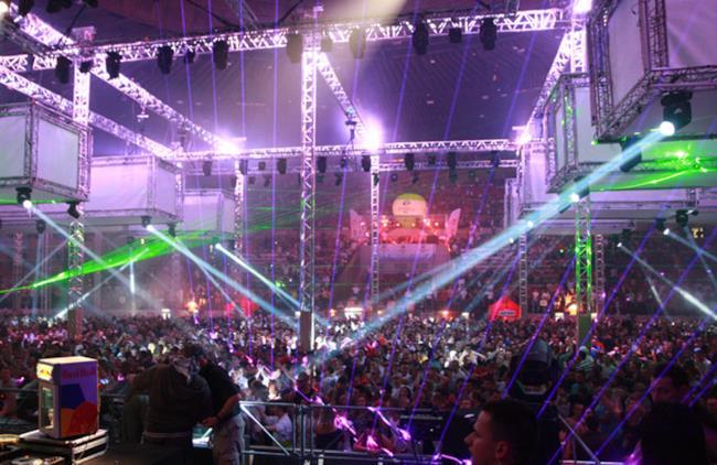 l'arena che ha ospitato il Mayday Poland del 2013
