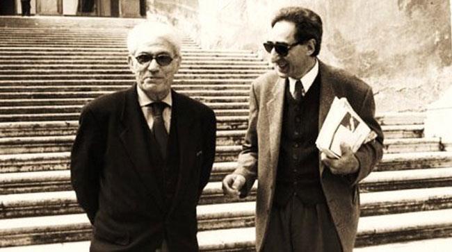 Manlio Sgalambro e Franco Battiato