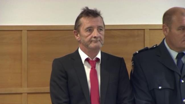 Phil Rudd in tribunale