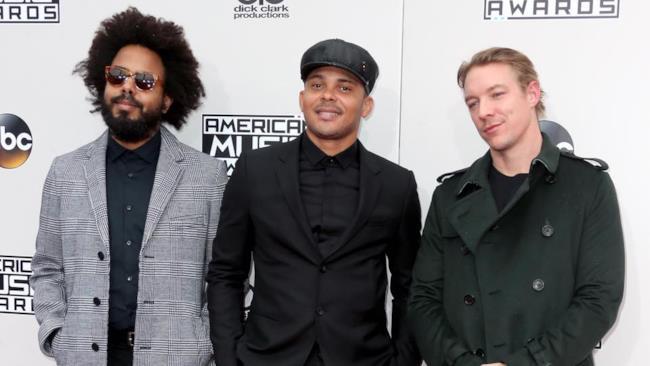 I Major Lazer sul red carpet degli American Music Awards