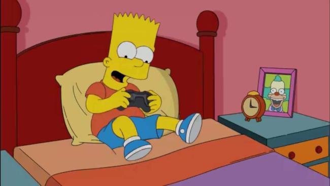 Bart Simpson è uno dei personaggi interpretati da Pagnotta nel suo nuovo video