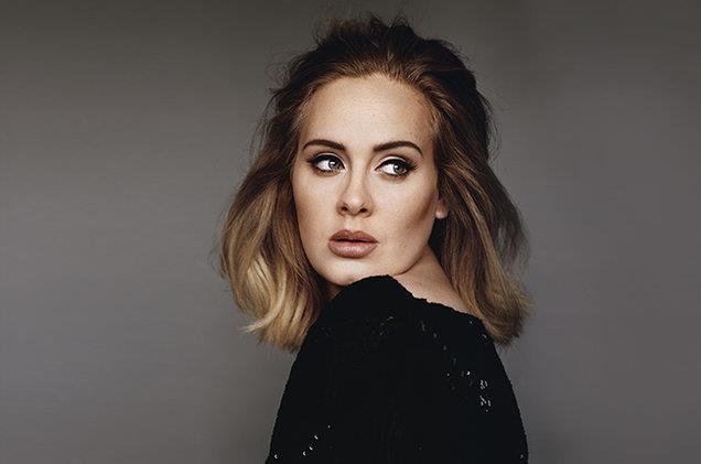Adele fotografata da Alasdair McLellan nel 2015