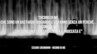 Cesare Cremonini: le migliori frasi delle canzoni