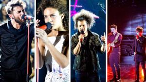 I quattro finalisti di X Factor 2015 Italia