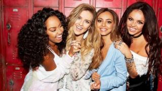 Le Little Mix sulla cover del singolo Black Magic