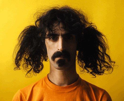 Il musicista americano Frank Zappa