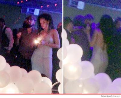 La prima foto di Rihanna e Leo di Caprio insieme