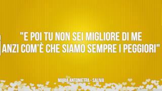 Maria Antonietta: le migliori frasi dei testi delle canzoni