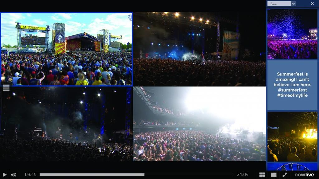 NowLive Summerfest streaming