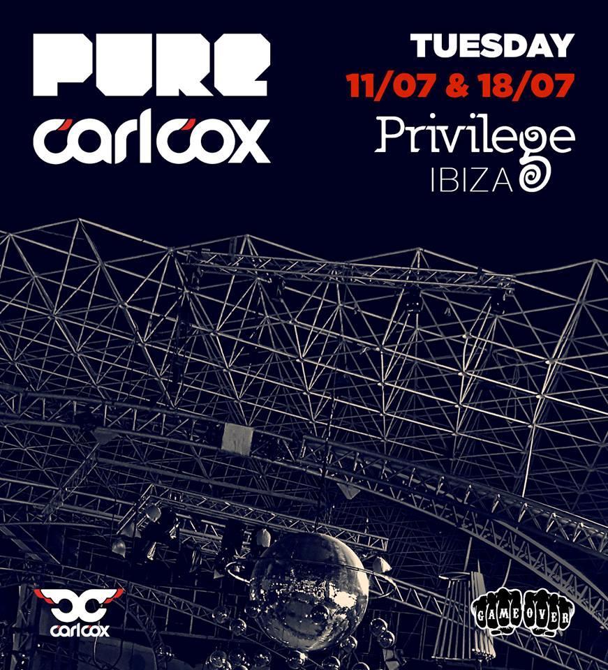 copertina della serata al Privilege