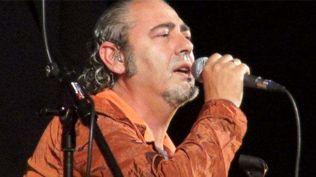Luca Carboni sul palco