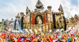 Il palco del Tomorrowland 2015