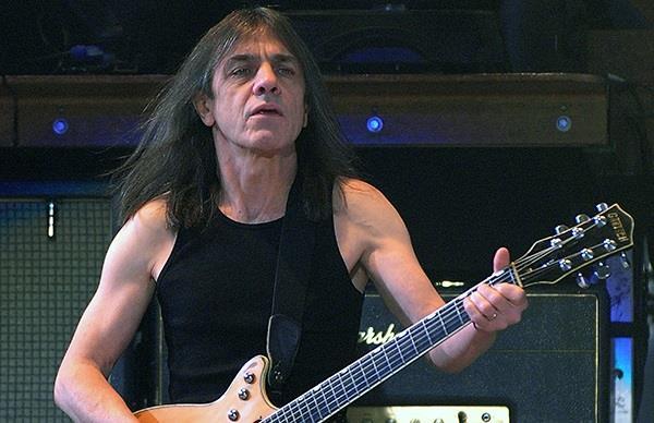 Malcolm Young, chitarrista degli AC/DC