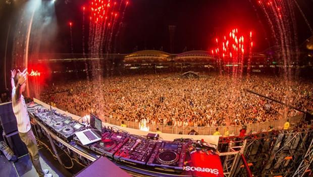 Armin Van Buuren sul palco dello Stereosonic.