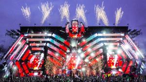 Il Mainstage dell'Ultra Music Festival