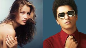 Laetitia Casta e Bruno Mars