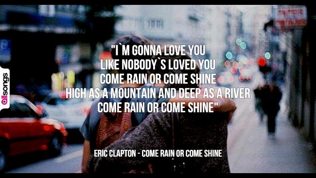 Eric Clapton: le migliori frasi dei testi delle canzoni