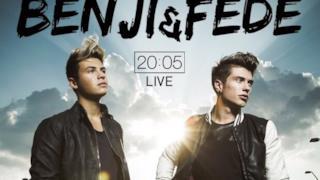 Benji & Fede sul poster del tour 20:05 Live