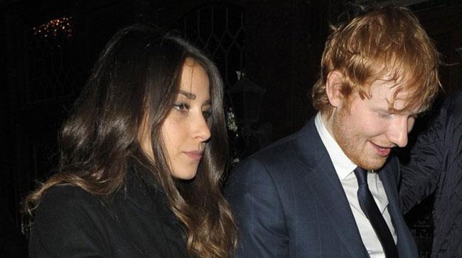 Ed Sheeran e Athina Andrelos