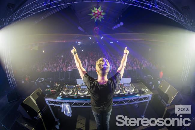 Una foto dal palco dello Stereosonic 2013