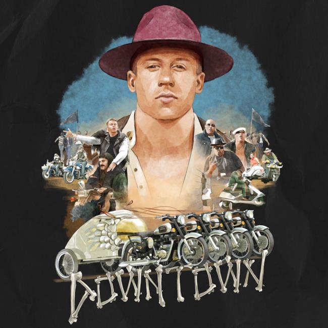 Copertina del singolo Downtown di Macklemore & Rian Lewis