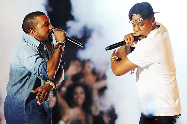 Jay-Z e Kanye West in concerto insieme