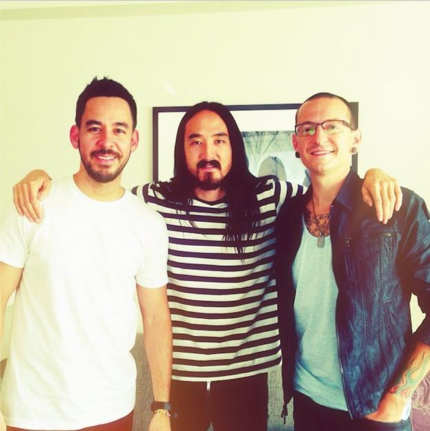 Steve Aoki e I Linkin Park avevano già collaborato per A Light That Never Comes