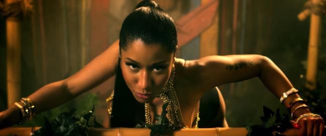 Nicki Minaj super HOT nel video di Anaconda