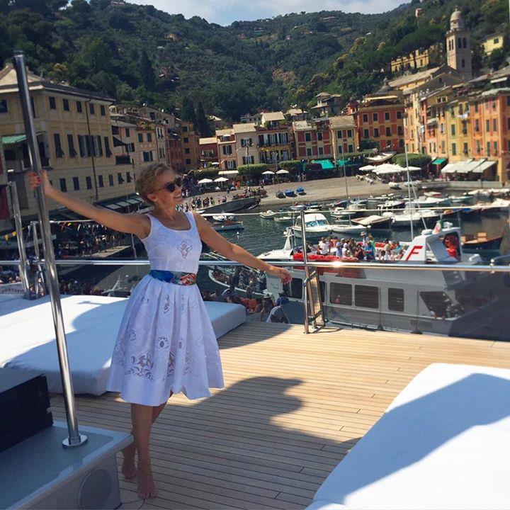 Kylie Minogue a Portofino