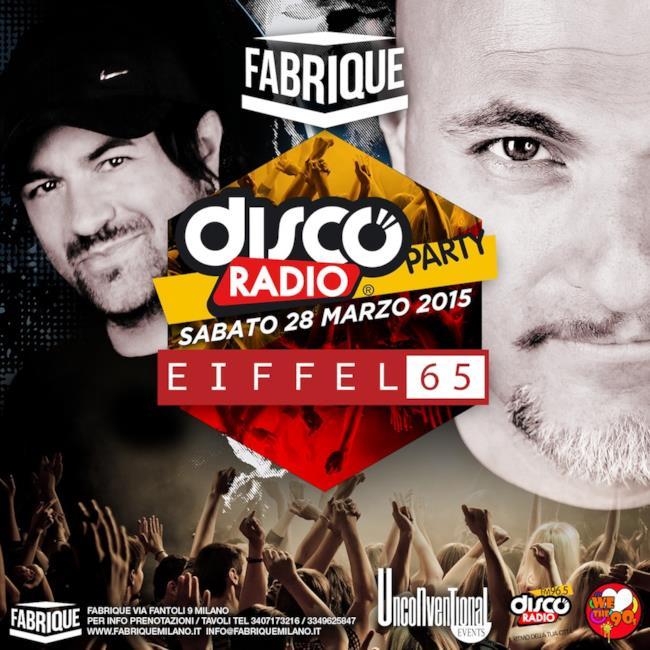 Eiffel 65 @ Disco radio Party