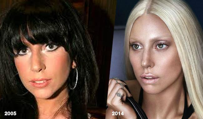 Lady Gaga primo piano