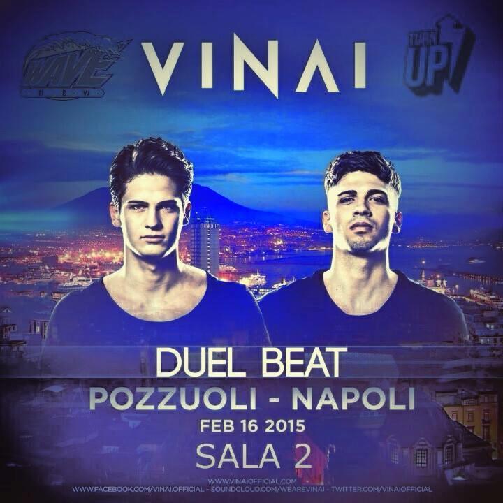 I VINAI termineranno il weekend con la data del 16 febbraio a Pozzuoli