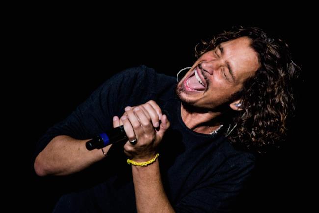 Il cantante Chris Cornell