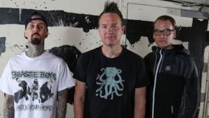 Il trio pop punk Blink-182