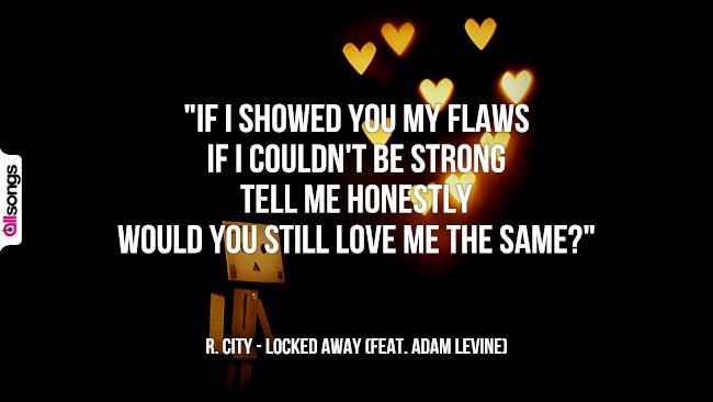 R. City: le migliori frasi dei testi delle canzoni
