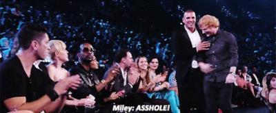 Miley Cyrus dice