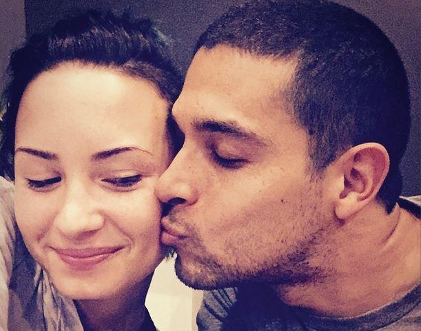 Demi Lovato con il fidanzato Wilmer Valderrama