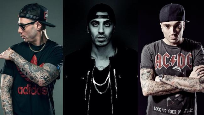 Fabri Fibra, Marracash e Guè Pequeno