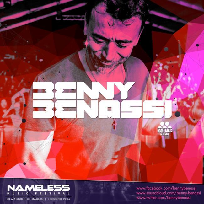 Benny Benassi è l'ultimo ospite annunciato del Nameless Music Festival