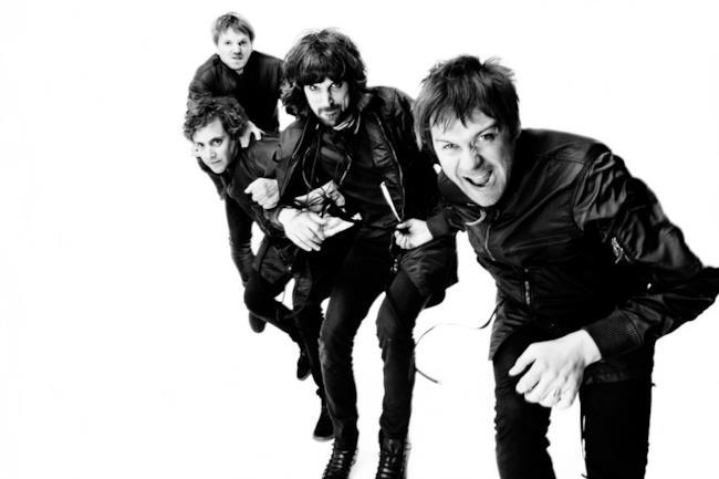 I 4 membri della band inglese Kasabian