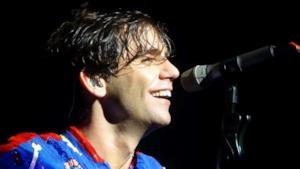 Mika durante il concerto di Londra a ottobre 2015