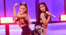 Nicki Minaj e Ariana Grande sul palco