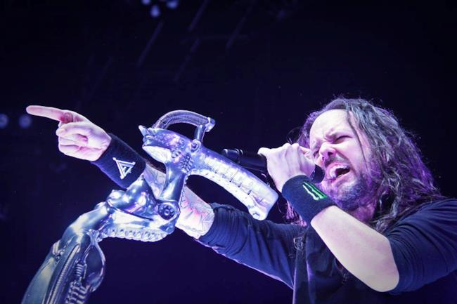 Jonathan Davis, il cantante dei Korn