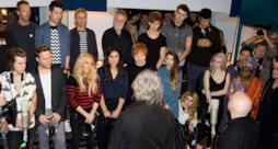 Il cast di Band Aid 30
