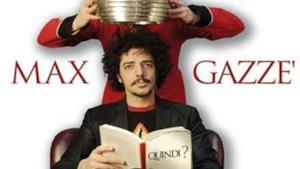 """Max Gazzè, parte col botto il """"Quindi? Tour teatrale 2011"""""""