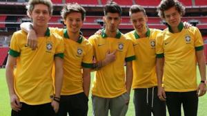 Cantanti famosi con la maglia del Brasile: dai One Direction a Lady Gaga