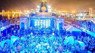 DJ Set durante la crociera It's the Ship di marzo